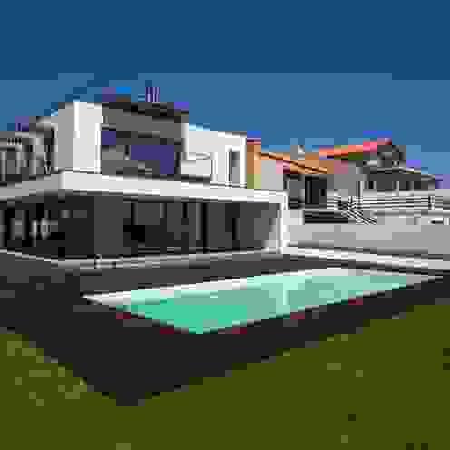 Casa VA Atelier d'Arquitetura Lopes da Costa Casas modernas
