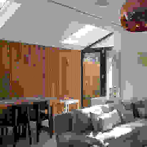 Venn Street Part 2 Proctor & Co. Architecture Ltd Modern living room