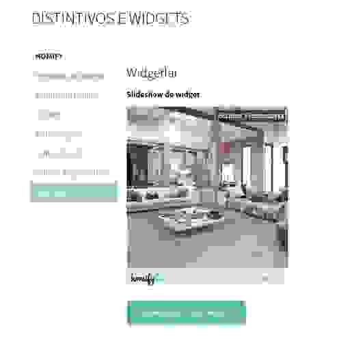 O que é um widget? por Apoio homify