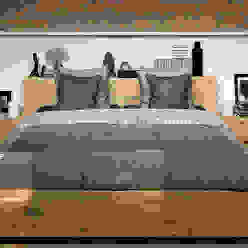 Oak Madra Bed de bolighus design Escandinavo