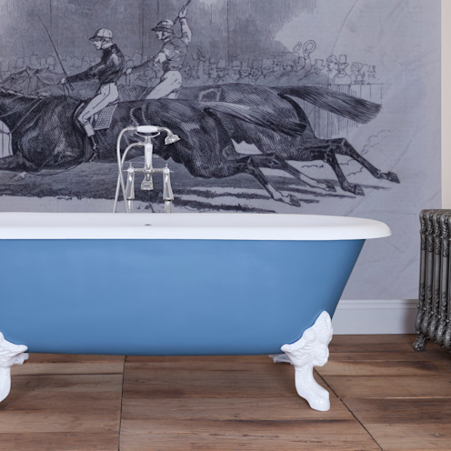 Cartmel Double Ended Roll Top Cast Iron Bath from the UKAA Bathroom Range от UK Architectural Antiques Классический