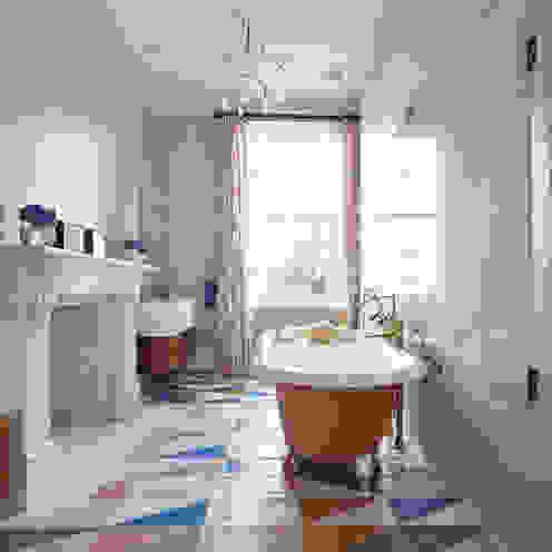 Drummond's Case Study: London Townhouse, Notting Hill Banheiros modernos por Drummonds Bathrooms Moderno