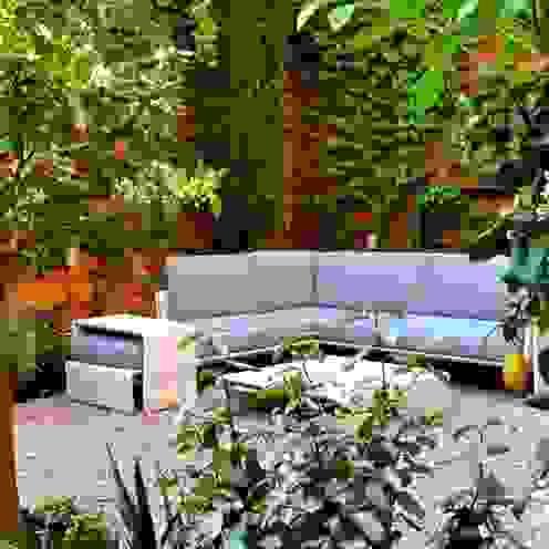 Jardins ecléticos por ésverd - jardineria & paisatgisme Eclético