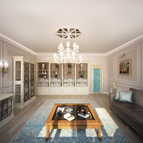 Classic style living room by Анастасия Муравьева Classic