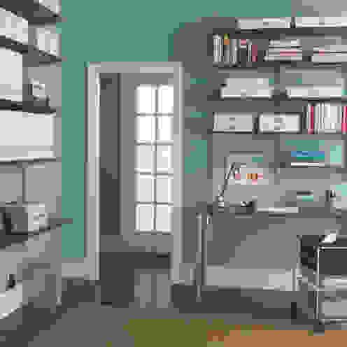 Elfa Deutschland GmbH Classic style study/office Wood-Plastic Composite Brown