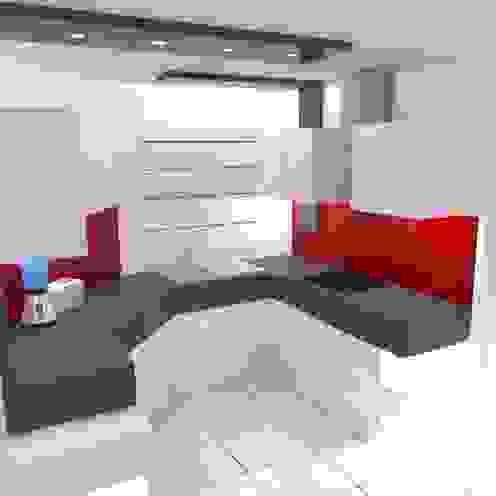VISTA 3 ROJAS Arquitectura Diferente CocinaArmarios y estanterías Blanco