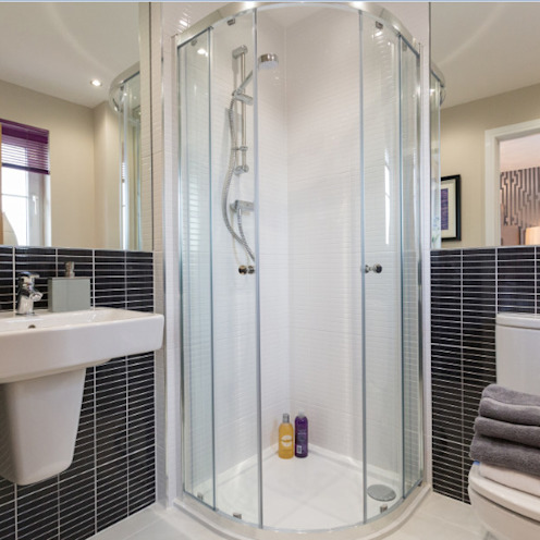 Take a step into luxury each day.. Graeme Fuller Design Ltd Baños de estilo moderno