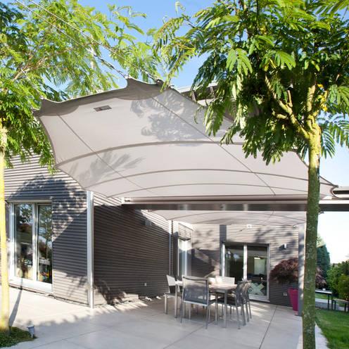 Balcon, Veranda & Terrasse de style  par C4sun