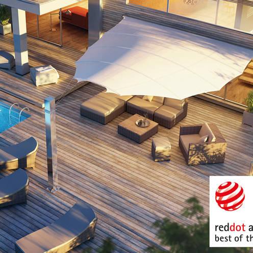Balcon, Veranda & Terrasse de style  par derraumhoch3