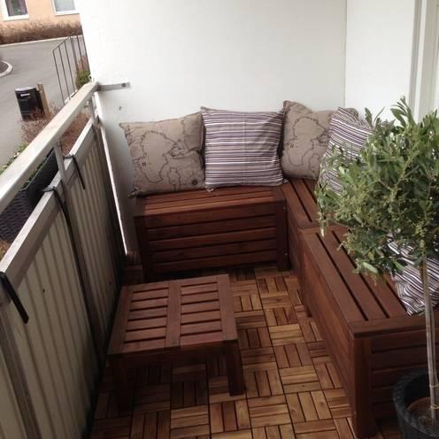 Balcon, Veranda & Terrasse de style  par Group Enerji Yapı Dekorasyon