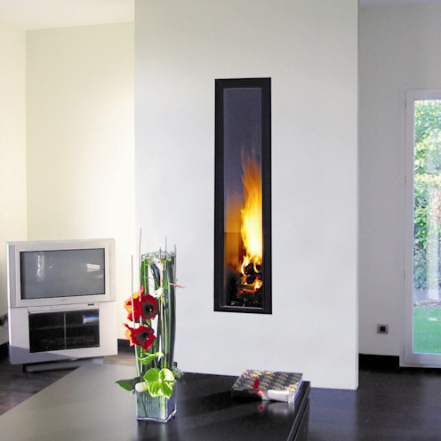 Ifocus Fire homify Living roomFireplaces & accessories