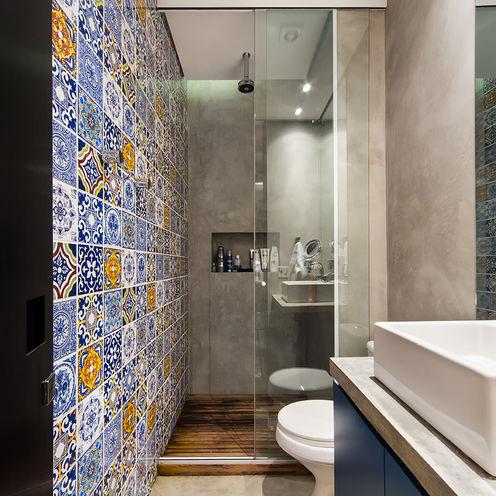 Casa100 Arquitetura Baños de estilo moderno