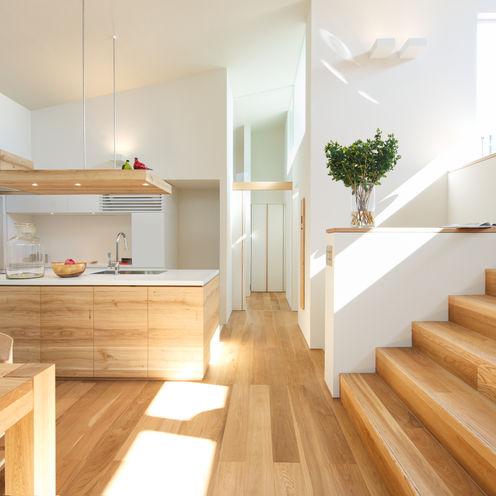 Mimasis Design/ミメイシス デザイン CocinaEncimeras Madera Acabado en madera