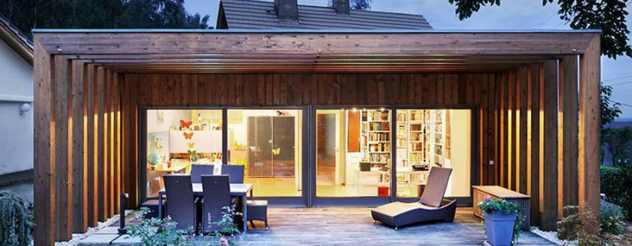 Tерраса в . Автор – [lu:p] Architektur GmbH