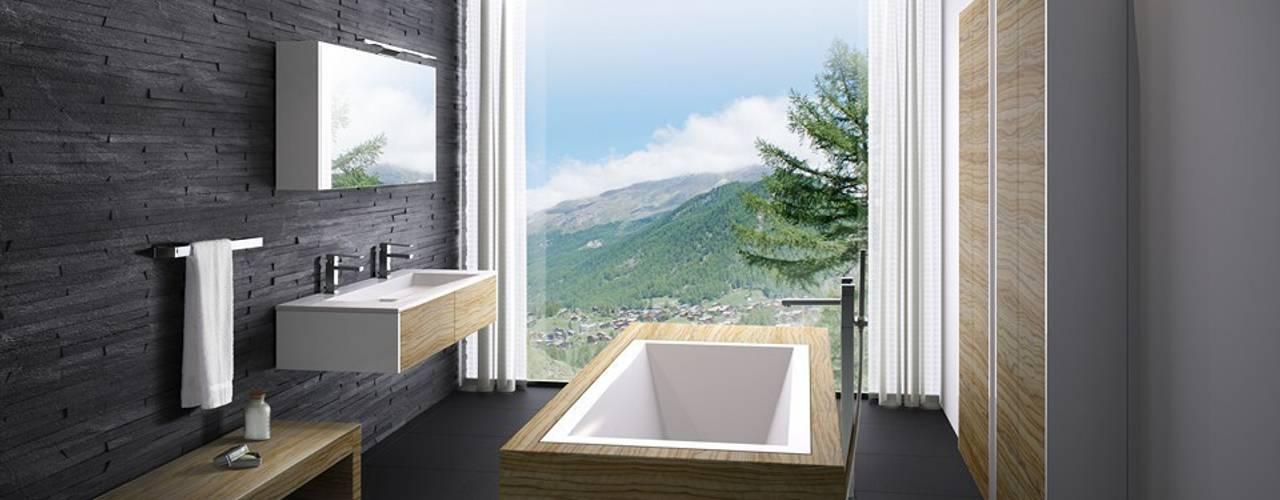Bathroom by Die Tischlerei Hauschildt,