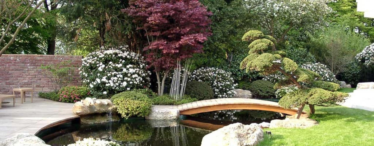 Kirchner Garten + Teich GmbH:  tarz Bahçe