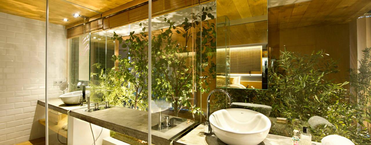 Salle de bains de style  par Egue y Seta, Rustique