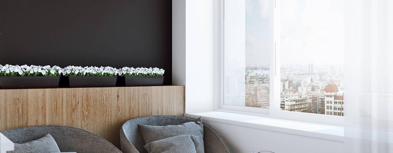Terrasse de style  par Angelina Alekseeva