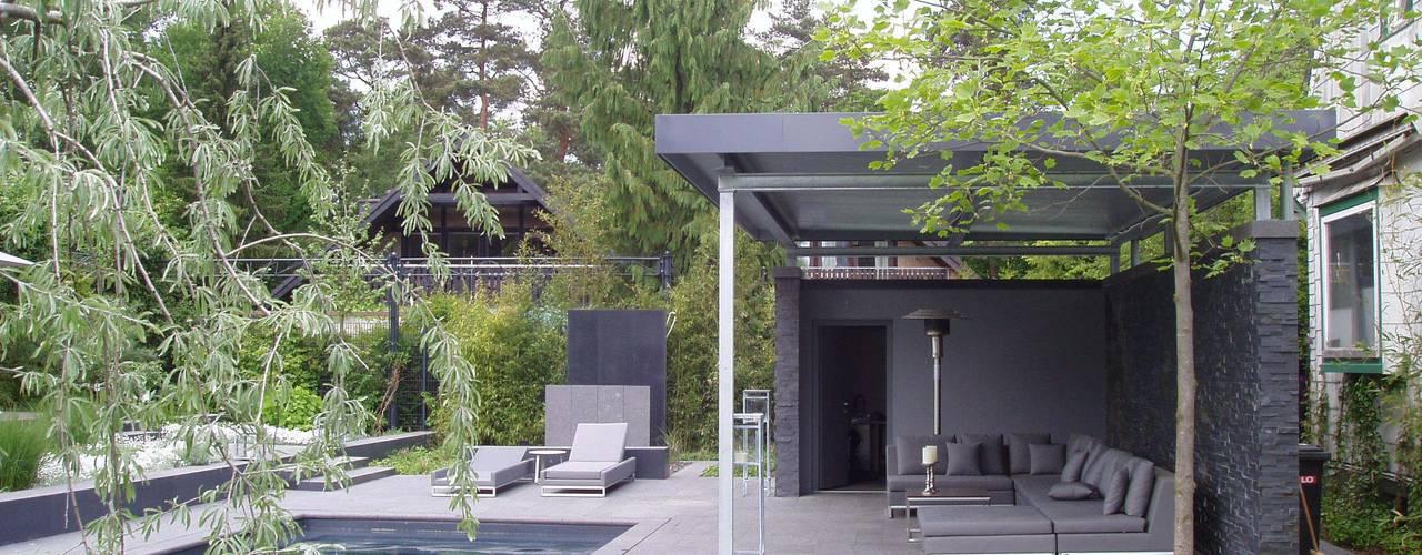 Jardin moderne par L-A-E LandschaftsArchitektur Ehrig & Partner Moderne