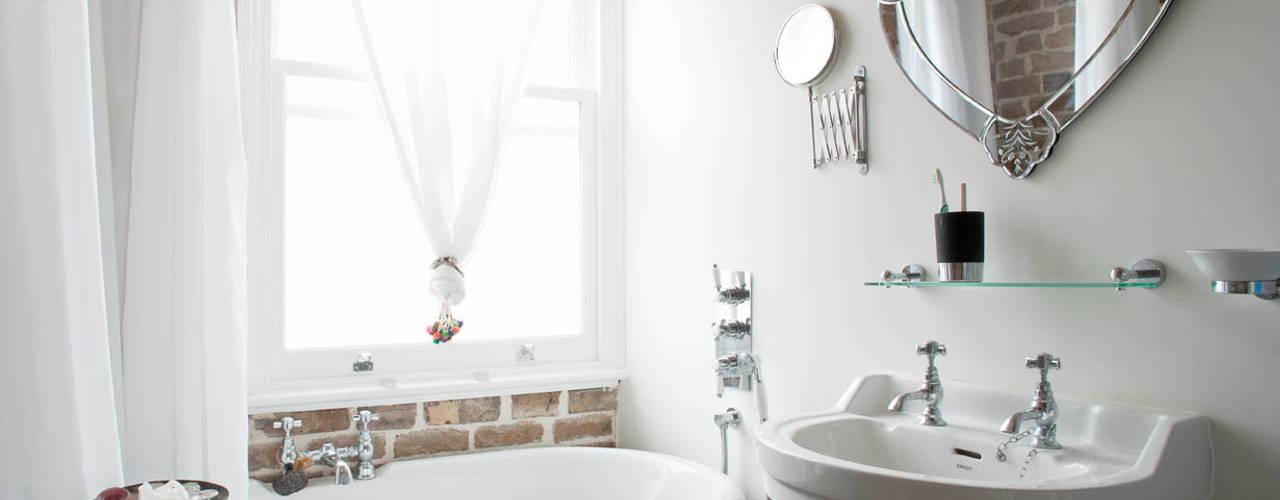 Falkirk St MDSX Contractors Ltd Industrial style bathroom