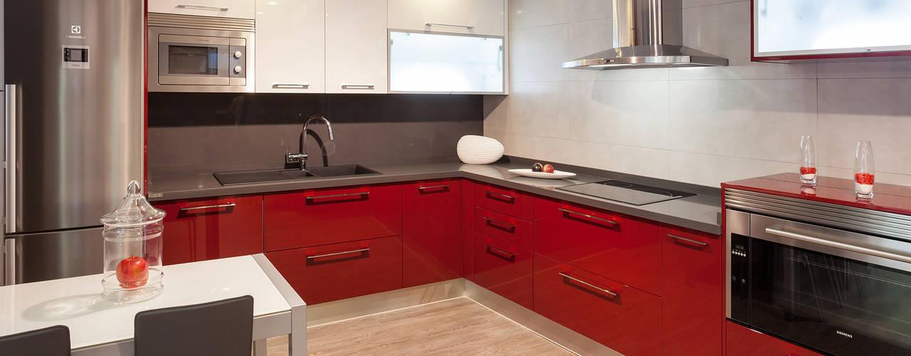 Cocinas de estilo  por Cocinas Rio