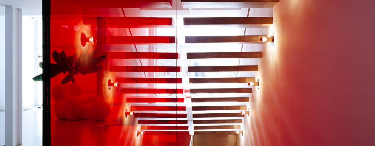 Gang, hal & trappenhuis van Buratti + Battiston Architects