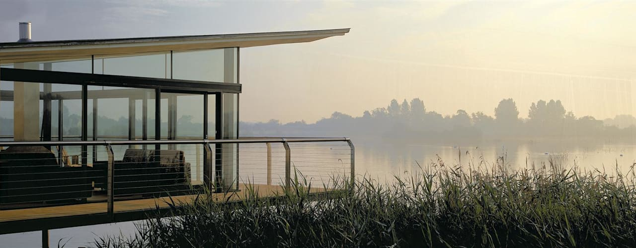 AR Design Studio- The Boat House Moderne huizen van AR Design Studio Modern