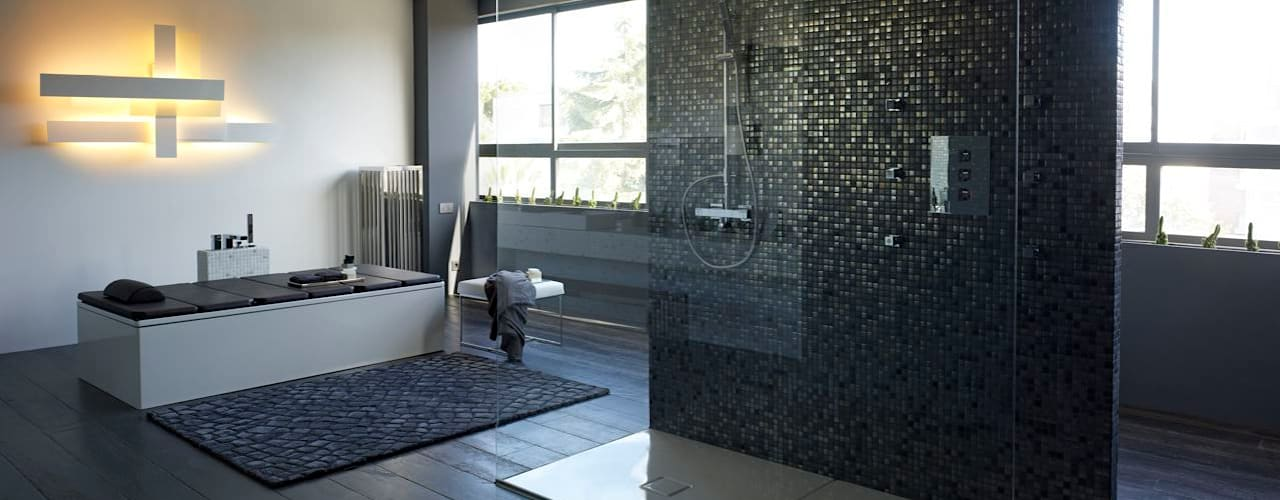 Baños de estilo moderno de BARASONA Diseño y Comunicacion Moderno