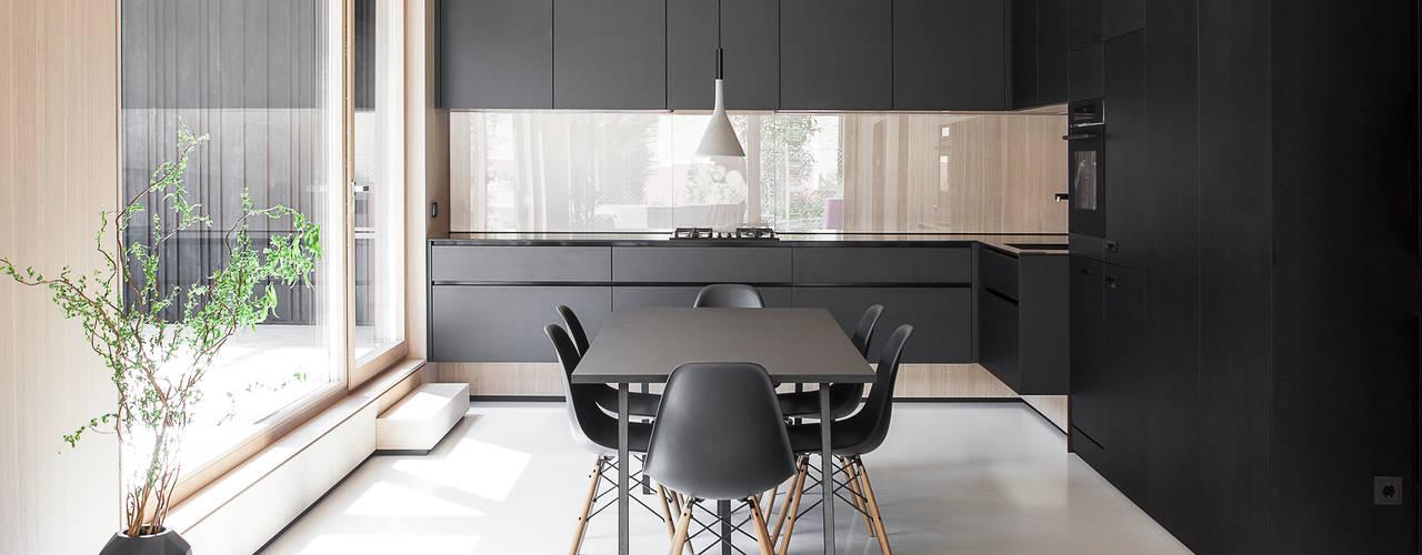 Cocinas de estilo moderno de FORMAT ELF ARCHITEKTEN Moderno