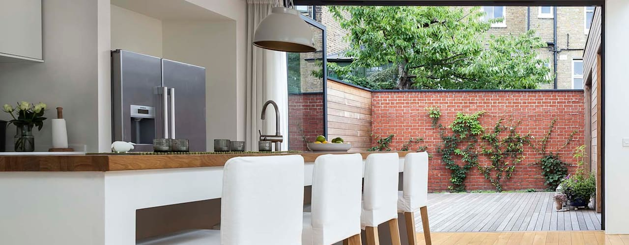Courtyard House - East Dulwich Modern kitchen by Designcubed Modern