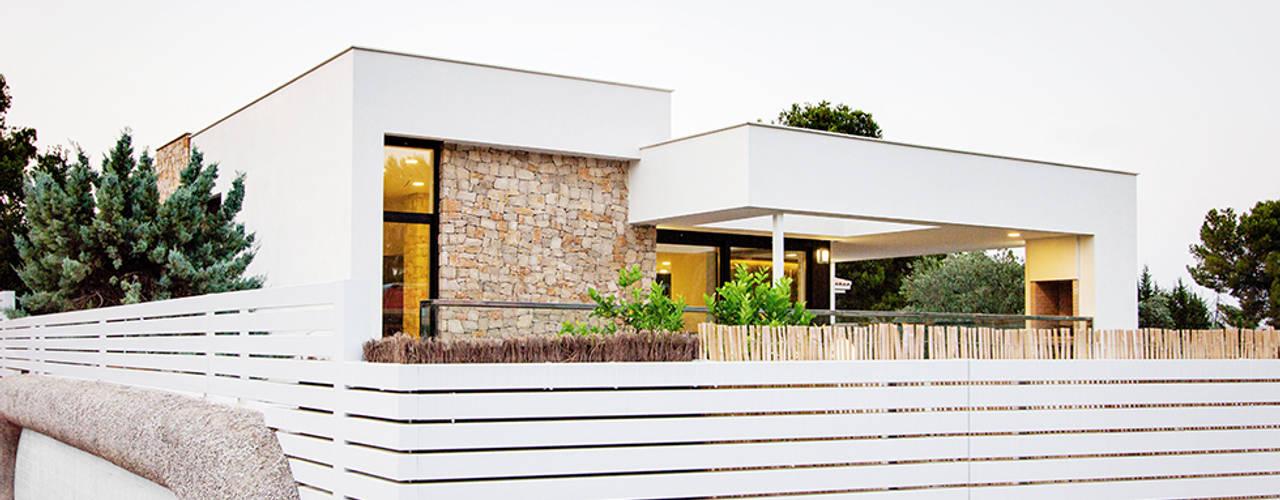Projekty, nowoczesne Domy zaprojektowane przez Chiralt Arquitectos