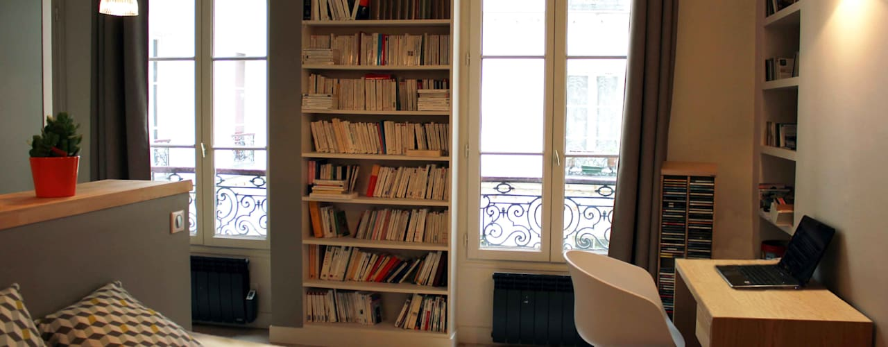 Ruang Keluarga Modern Oleh Agence KP Modern