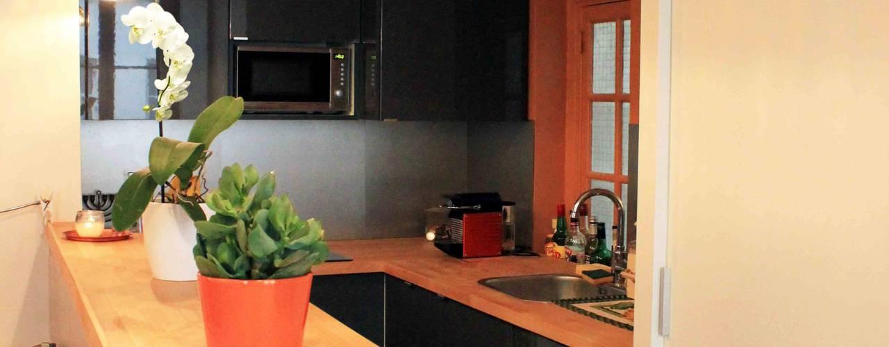 Cocinas modernas de Agence KP Moderno