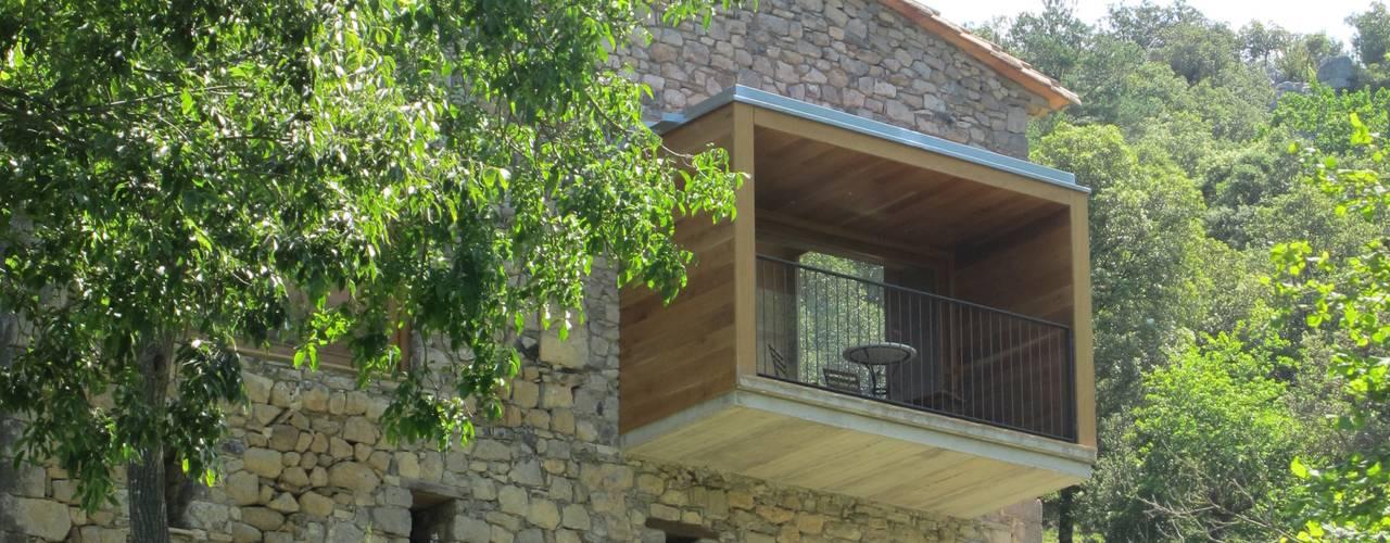 Projekty,  Domy zaprojektowane przez Arcadi Pla i Masmiquel Arquitecte