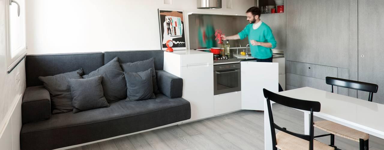 Projekty,  Kuchnia zaprojektowane przez gosplan architects