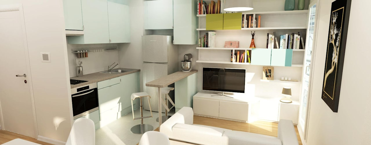 por Design By Solène Utard, Moderno