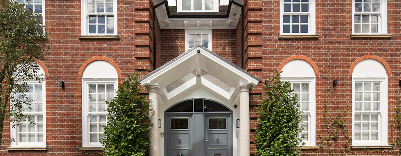 Templewood Avenue, NW3 Classic style houses by XUL Architecture Classic