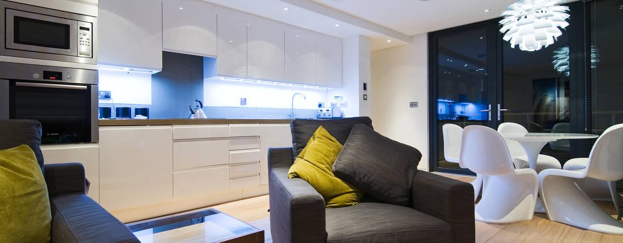 Projekty,  Salon zaprojektowane przez Boutique Modern Ltd