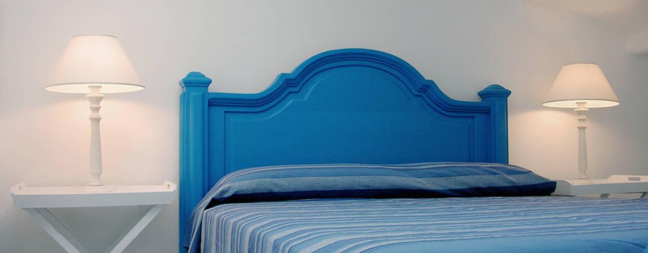 VILLA (ANZIO - RM) Studio Guerra Sas Camera da letto in stile mediterraneo