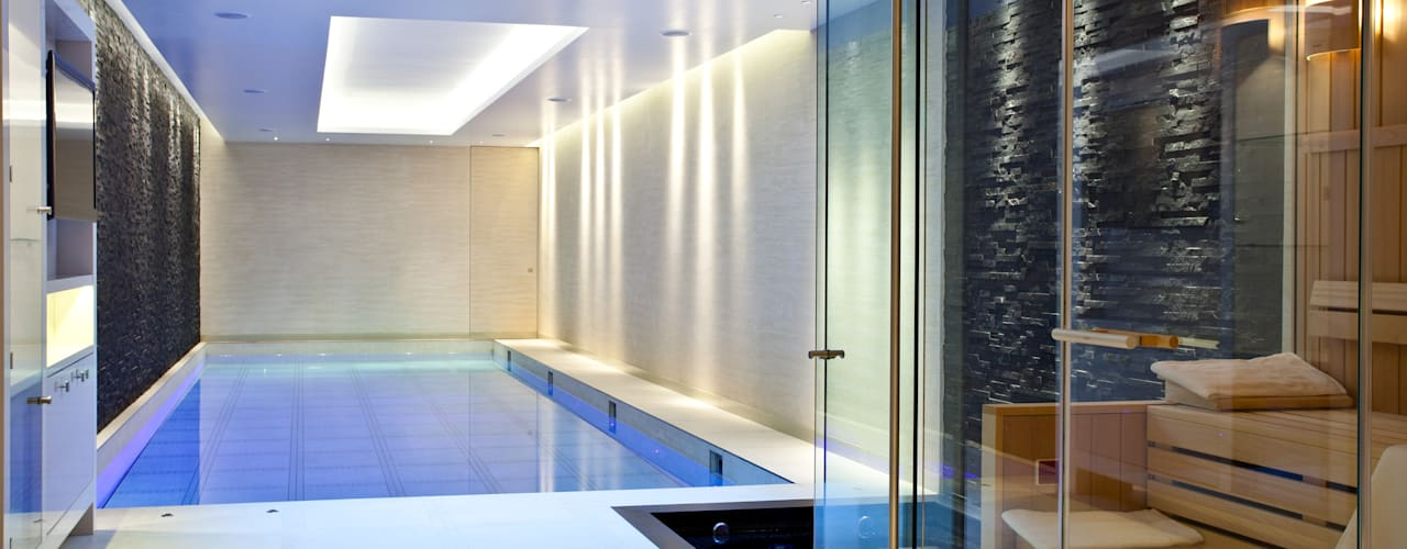 Moving Floor Pool London Swimming Pool Company Piscinas de estilo moderno
