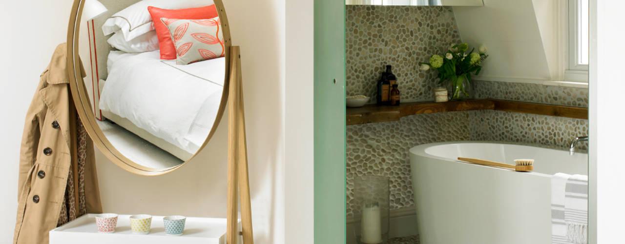 Baños de estilo  por Amory Brown Ltd