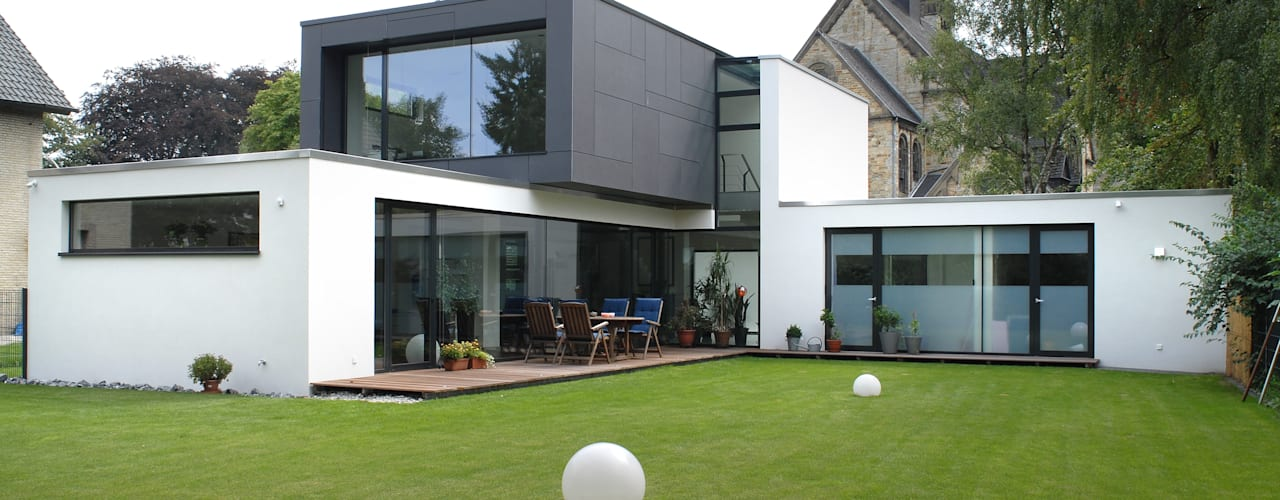 Casas modernas por Architekten Spiekermann Moderno