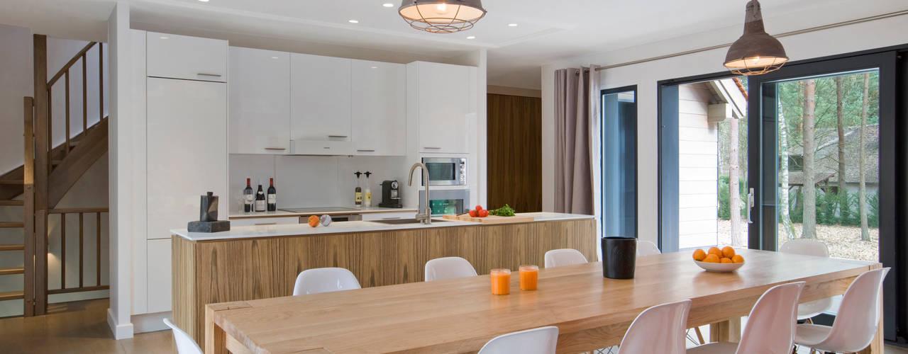 Столовая комната в стиле модерн от blackStones Модерн