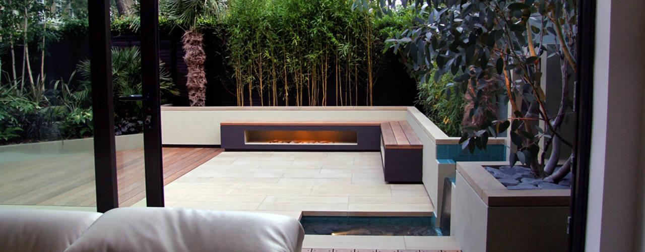 Regent's Park garden:  Garden by MyLandscapes Garden Design, Modern