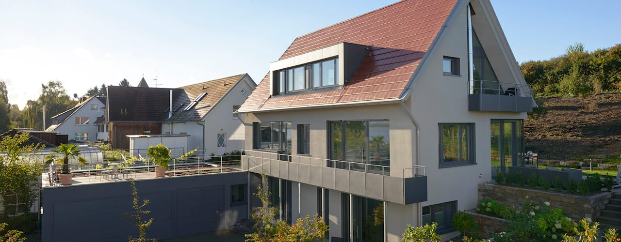 Projekty, nowoczesne Domy zaprojektowane przez Spaett Architekten GmbH