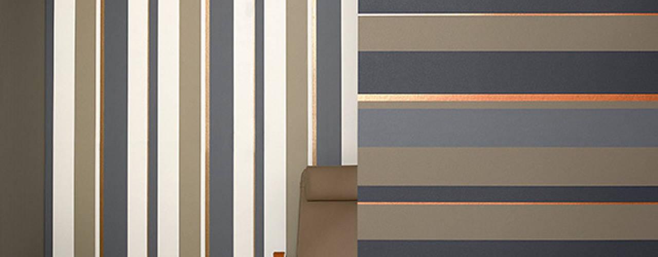 Horizontales o verticales cu l papel mural de rayas elegir - Papel pared rayas verticales ...