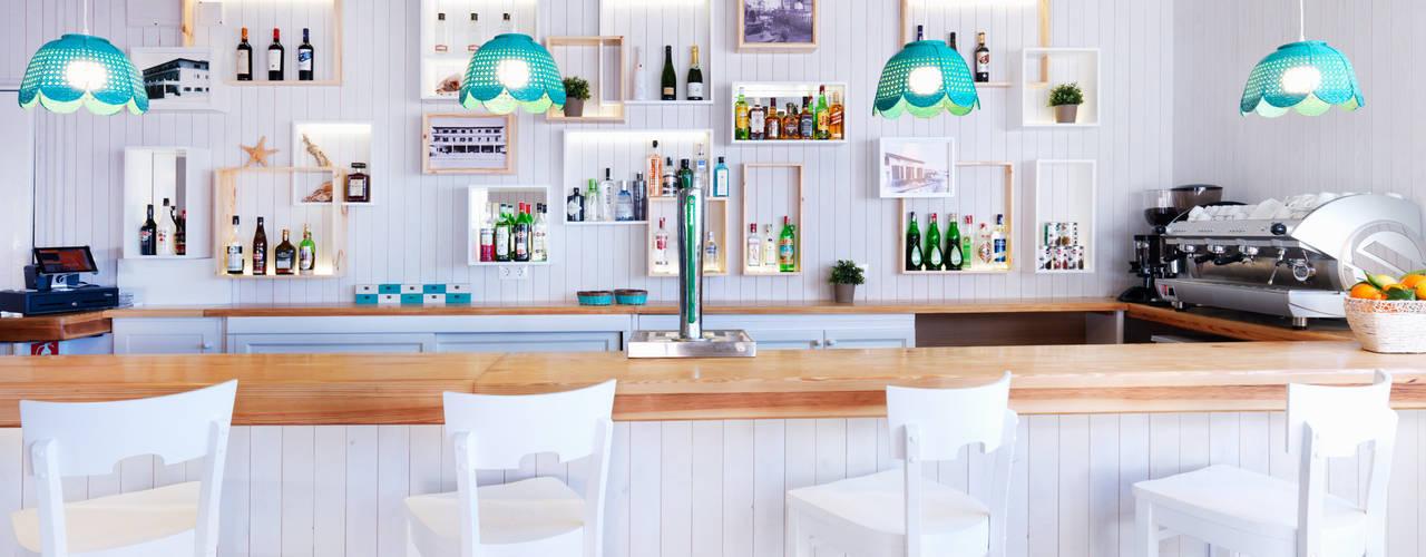 Restaurantes de estilo  por margarotger interiorisme