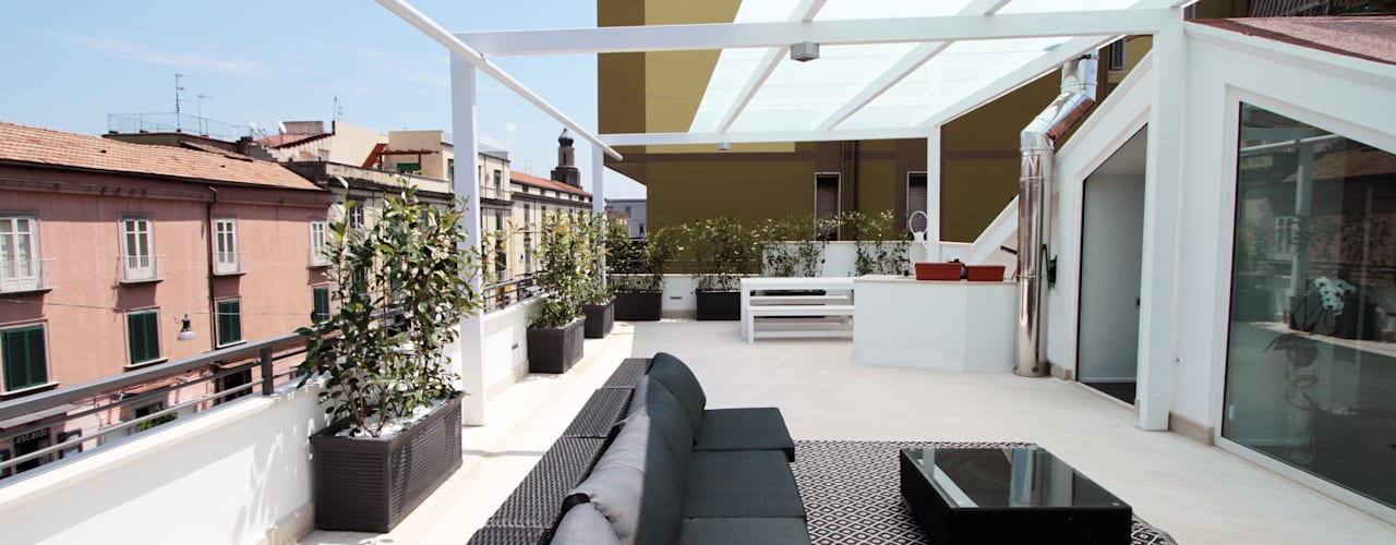 Casas de estilo moderno de Gimmigi Lab Architettura Moderno