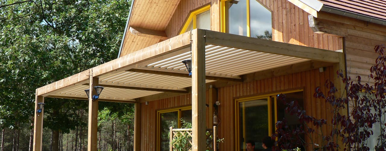 The BIOCLIMATIC Pergola by SOLISYSTEME от SOLISYSTEME Модерн