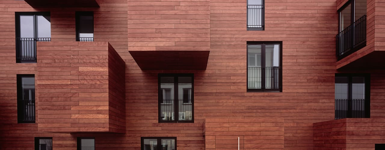Projekty,  Dom wielorodzinny zaprojektowane przez blauraum architekten